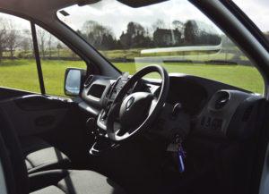 Renault Trafic Fridge Van Cab